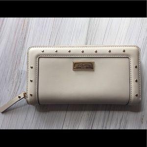 Kate Spade NY Pebble Helena Street Leather Wallet